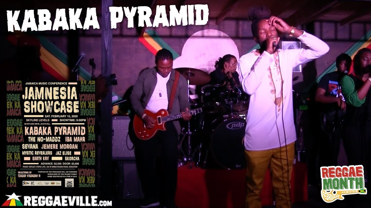 Kabaka Pyramid in Jamaica @ Jamnesia Showcase 2020 [2/15/2020]