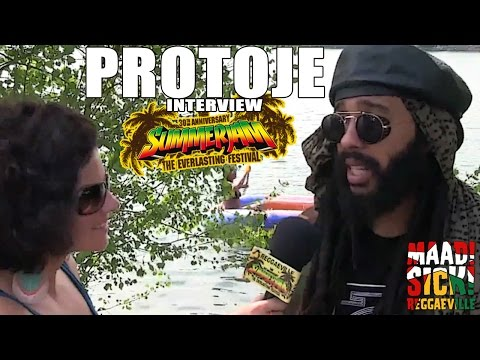 Interview with Protoje @ SummerJam 2015 [7/5/2015]