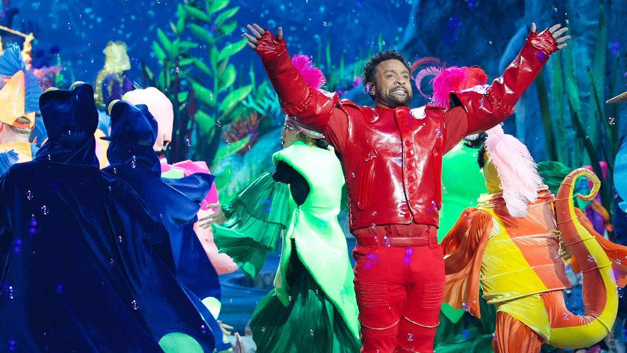 The story behind Shaggy's Sebastian costume in Little Mermaid Live [11/5/2019]