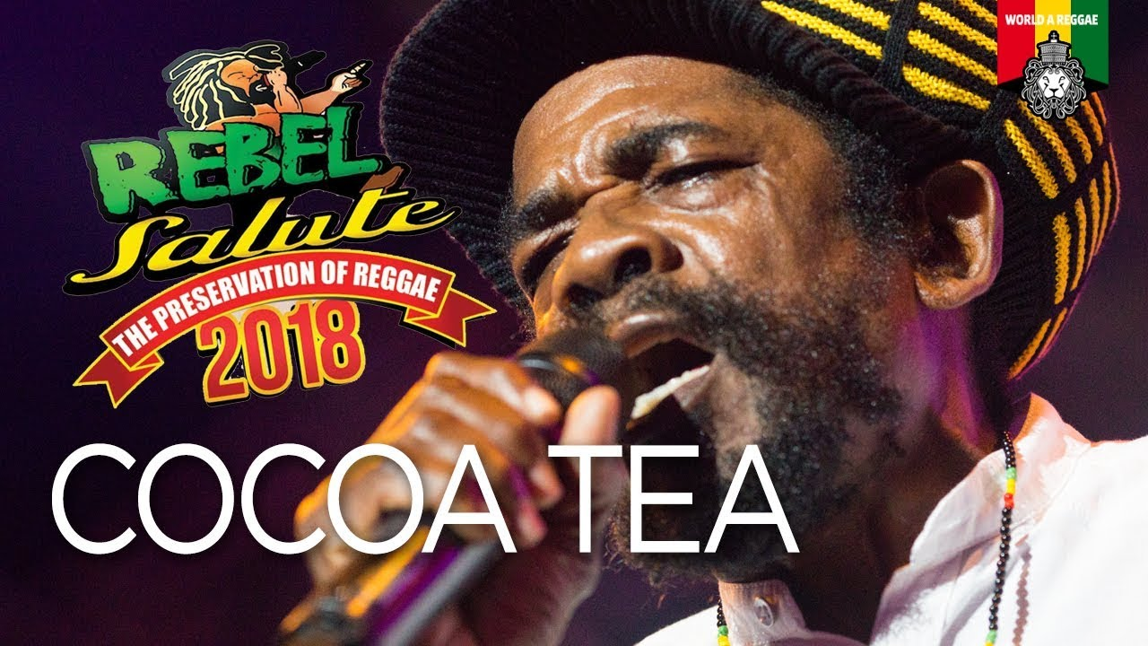 Cocoa Tea @ Rebel Salute 2018 [1/12/2018]