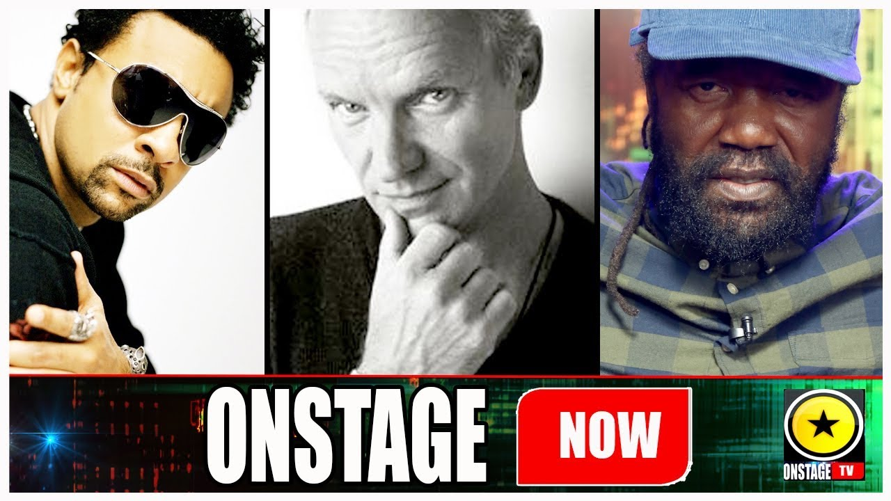 Sting, Shaggy and Tony Rebel @OnStage TV [1/6/2018]