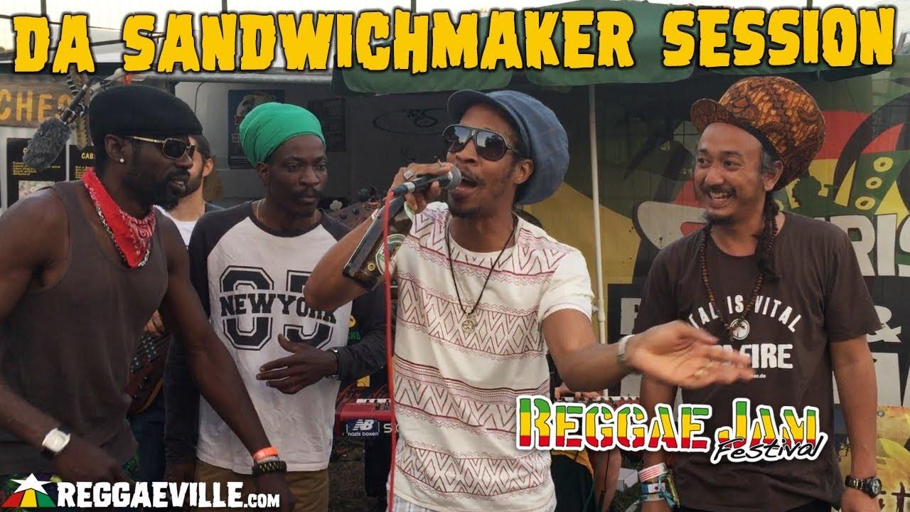 Da Sandwichmaker Session with Unlimited Culture & Exile Di Brave @ Reggae Jam 2018 [8/2/2018]