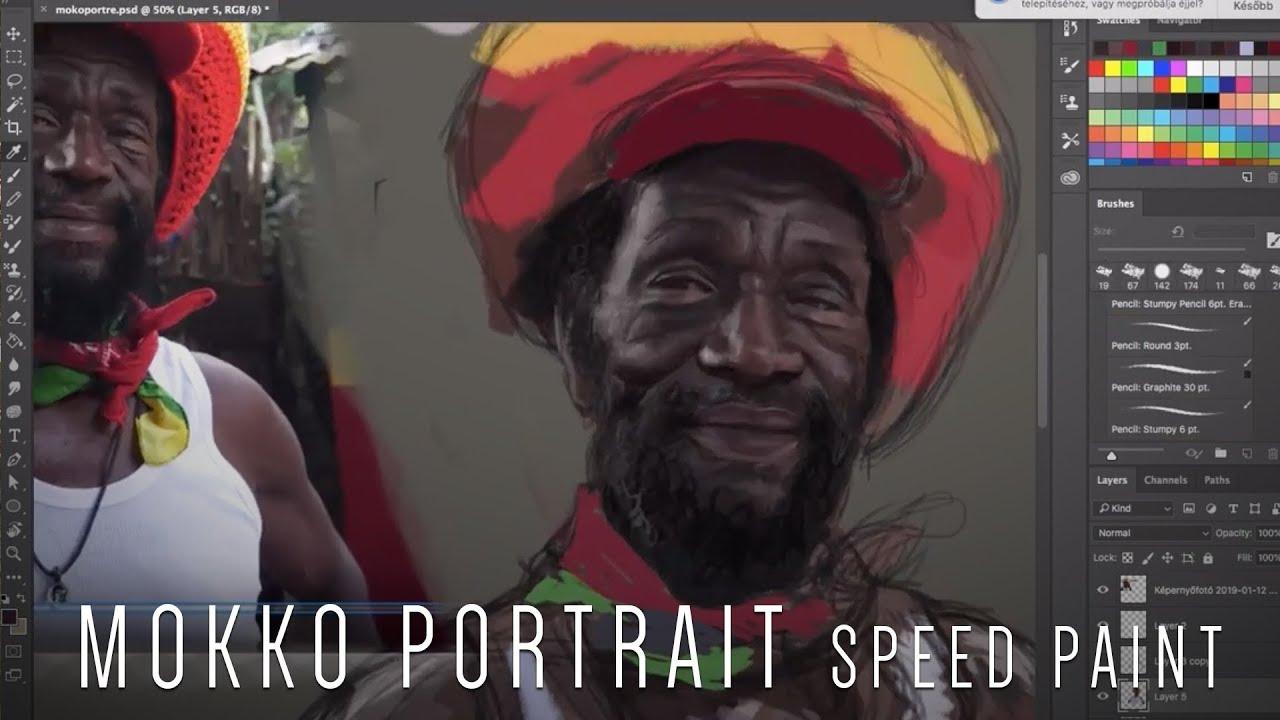 Ras Kitchen - Mokko Portrait Speedpaint by Fleuri Jardin! [4/29/2019]