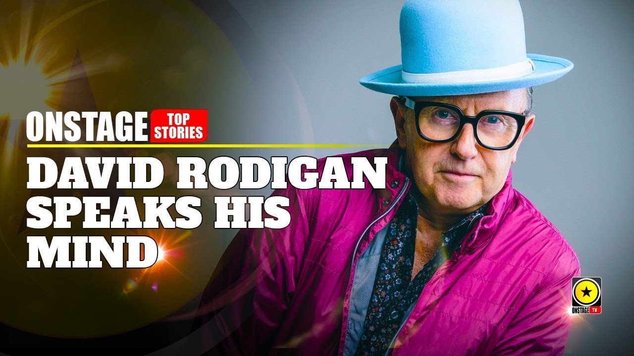 David Rodigan Speaks His Mind On State Of Reggae Today (OnStage TV) [7/13/2019]