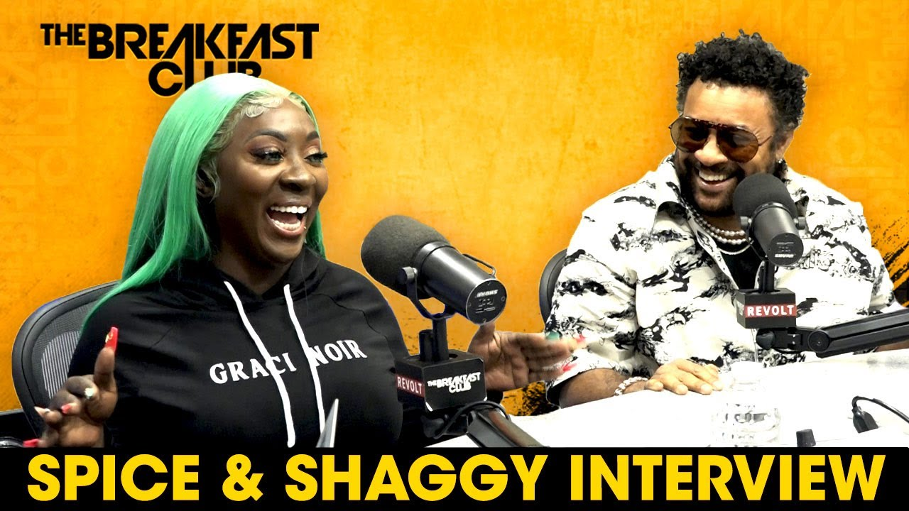 Interview with Spice And Shaggy @ The Breakfast Club [6/22/2021]