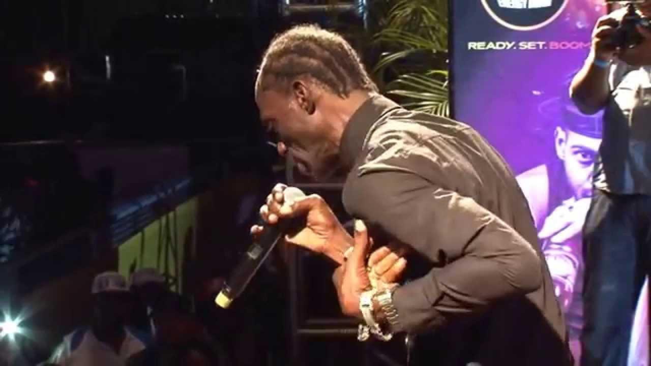 Ninjaman - Dissing Gully Bop & Isiah Laing @Christmas Reggae Extravaganza 2014 [12/25/2014]