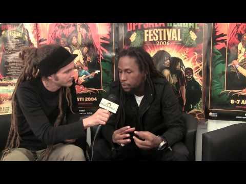 Interview: Jah Cure @Uppsala Reggae Festival [8/7/2010]