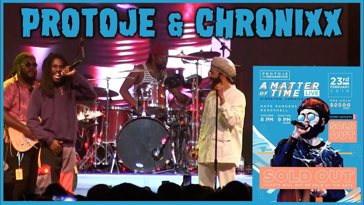 Protoje & Chronixx - Flames @ A Matter Of Time - Live 2019 [2/23/2019]