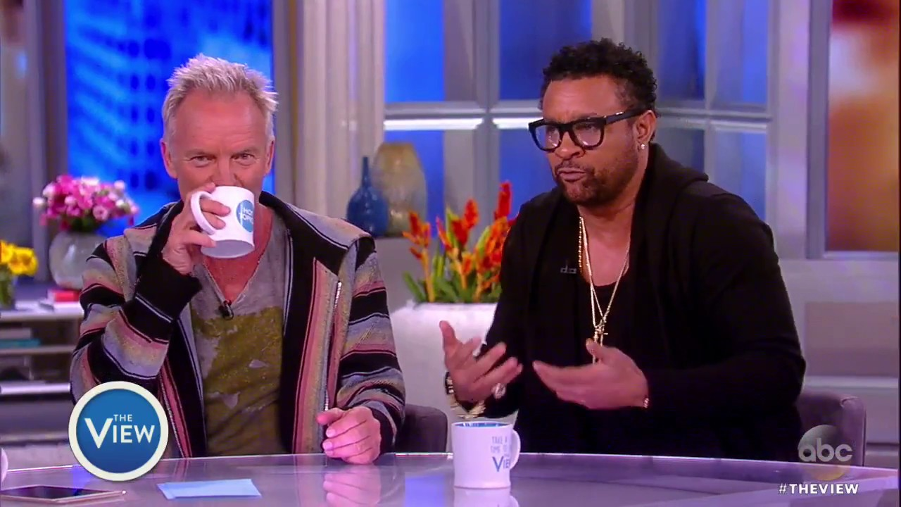 Shaggy & Sting Interview @ The View [4/25/2018]