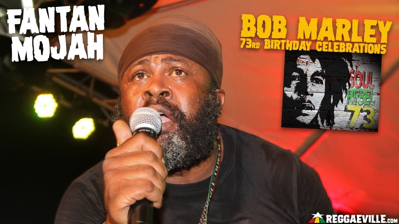 Fantan Mojah - Hail The King @ Bob Marley Museum in Kingston, Jamaica [2/6/2018]