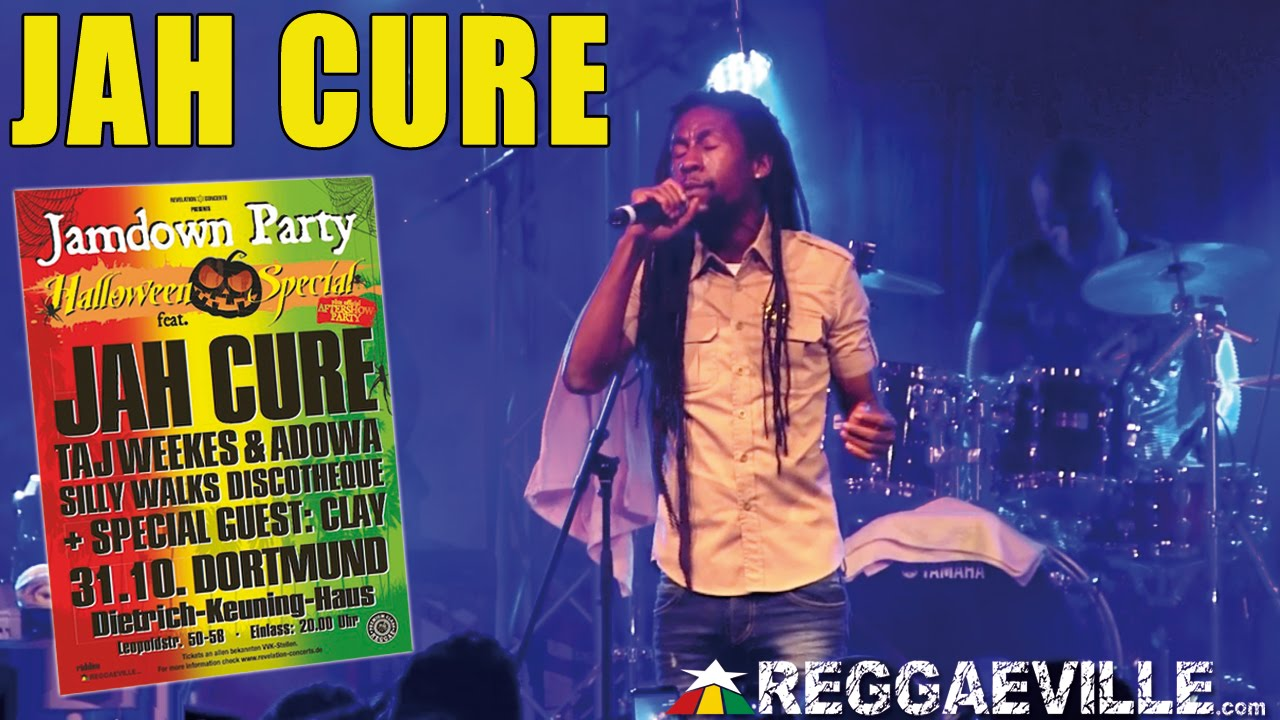 Jah Cure - Sunny Day @ Jamdown Party in Dortmund, Germany [10/31/2014]
