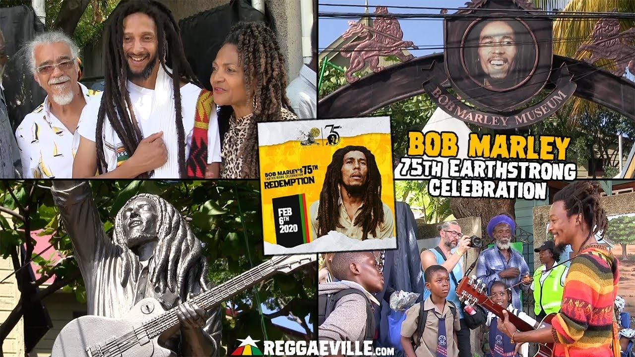 VIBES @ Bob Marley - 75th Earthstrong Celebration in Kingston, Jamaica 2020 [2/6/2020]