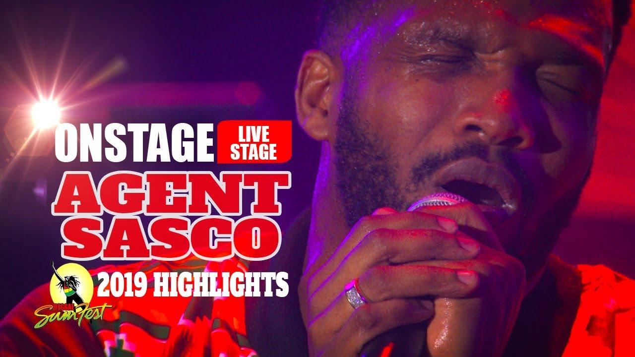 Agent Sasco @ Reggae Sumfest 2019 (OnStage TV Highlights) [7/19/2019]