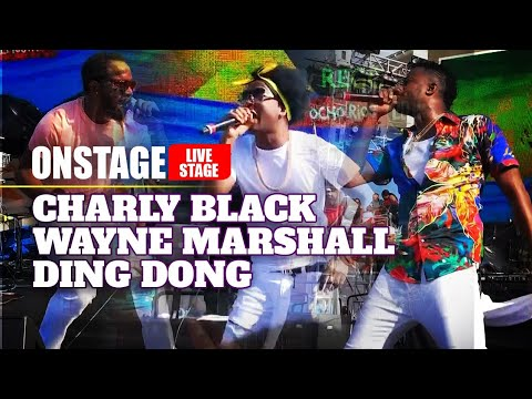 Ding Dong, Charly Black & Wayne Marshall @ Welcome to Jamrock Reggae Cruise 2019 [12/13/2019]