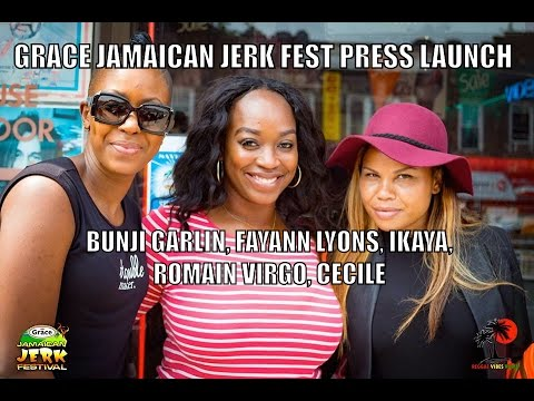 Jamaica Jerk Fest Press Event @ VP Records, Queens NY [6/6/2016]