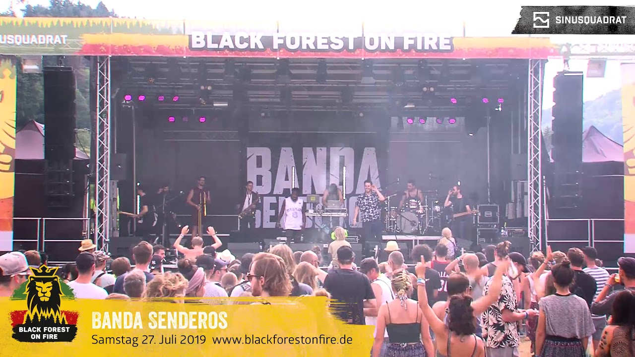 Banda Senderos @ Black Forest on Fire 2019 [7/27/2019]