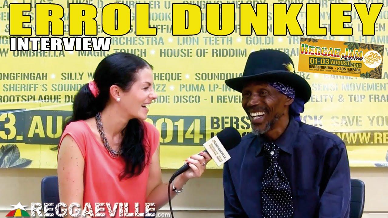 Interview with Errol Dunkley @ Reggae Jam 2014 [8/3/2014]