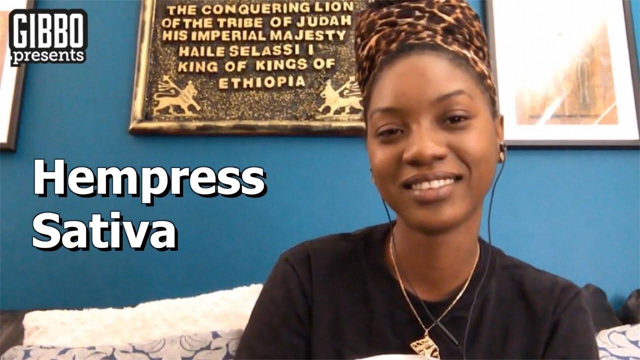 Interview with Hempress Sativa @ Gibbo Presents [9/20/2017]