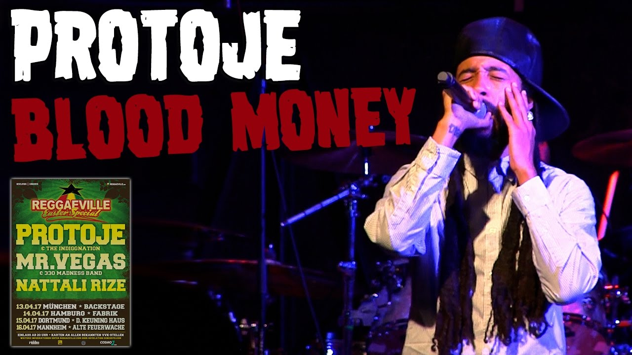 Protoje & The Indiggnation - Blood Money in Hamburg, Germany @ Reggaeville Easter Special 2017 [4/14/2017]