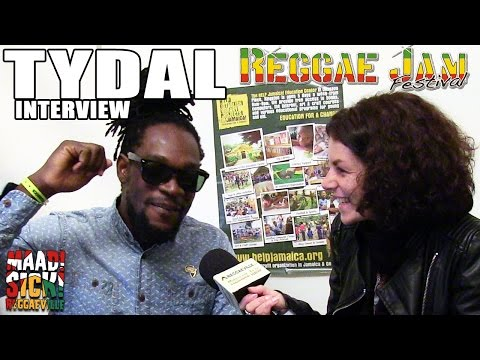 Interview with Tydal @ Reggae Jam 2015 [7/25/2015]
