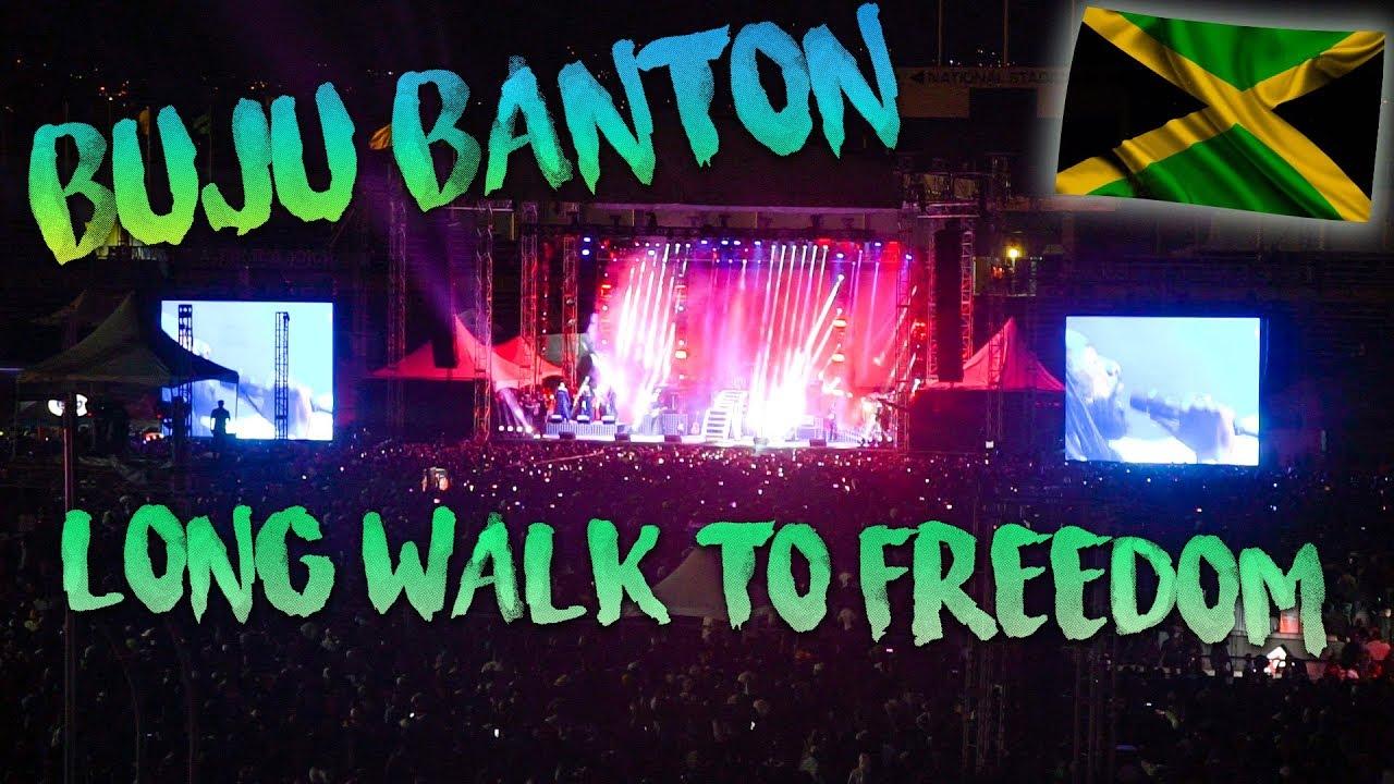 Foreigners react to Buju Banton Long Walk to Freedom Concert (BackpackingSimon Vlog) [4/7/2019]