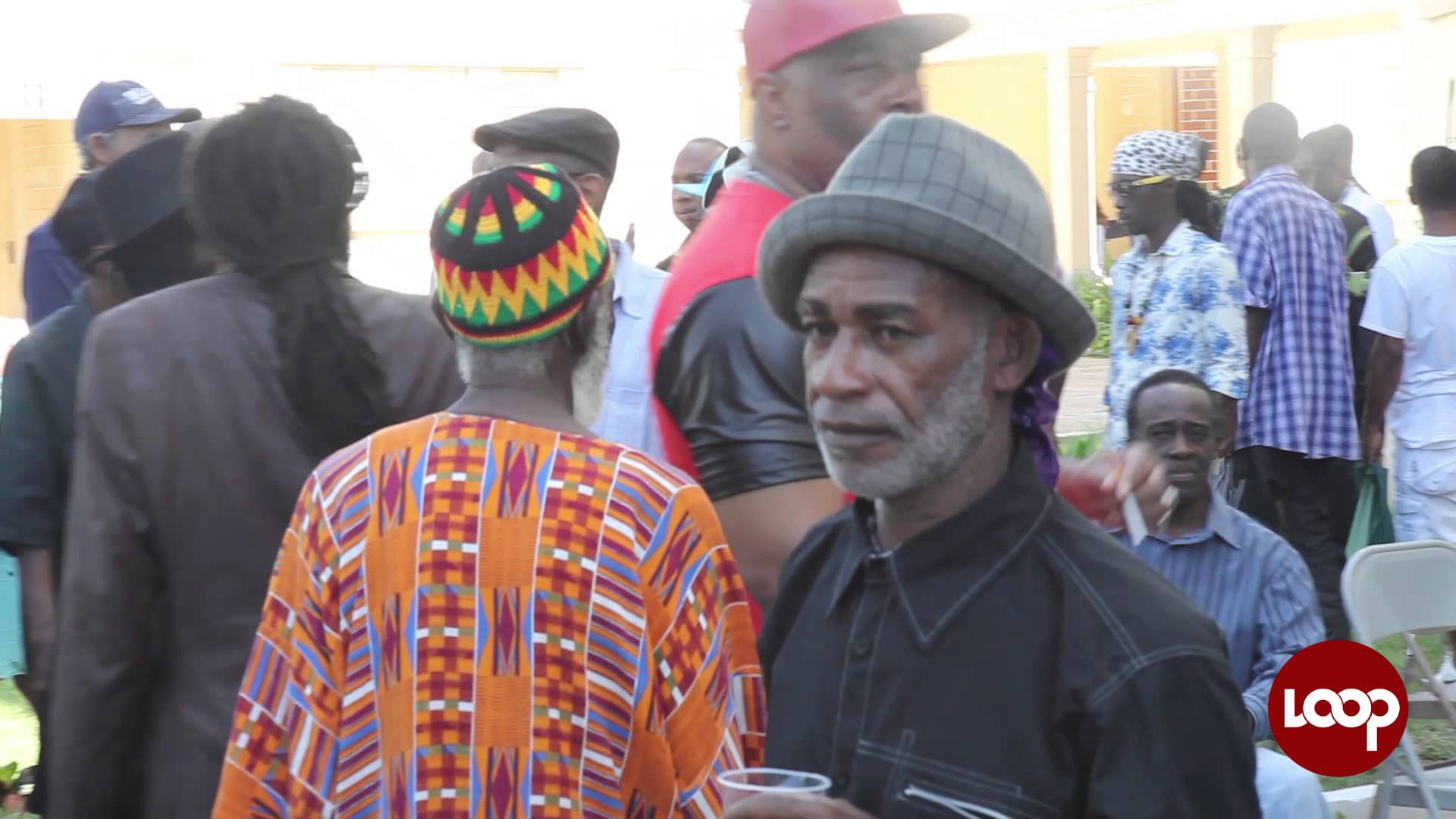 U Roy & The Silvertones @John Holt Funeral - Holy Trinity Cathedral in Kingston, JA [11/17/2014]