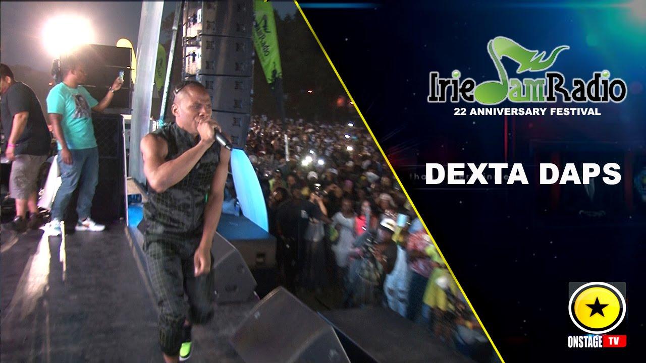 Dexta Daps @ Irie Jam Radio Anniversary Festival 2015 (Onstage TV) [9/6/2015]