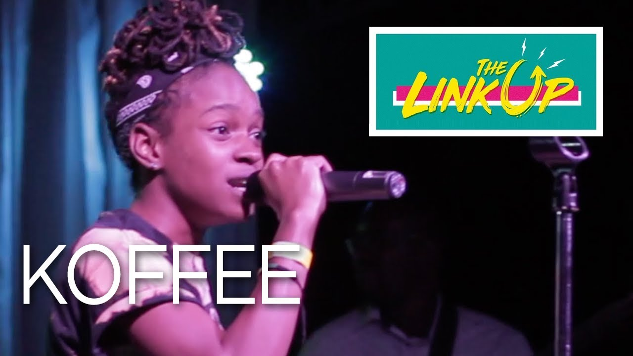 Koffee in Kingston, Jamaica @ The Link Up [2/8/2018]