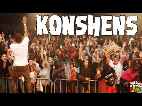 Konshens - On Your Face / Walk and Wine @ Keep It Real Jam 2016 [8/13/2016]