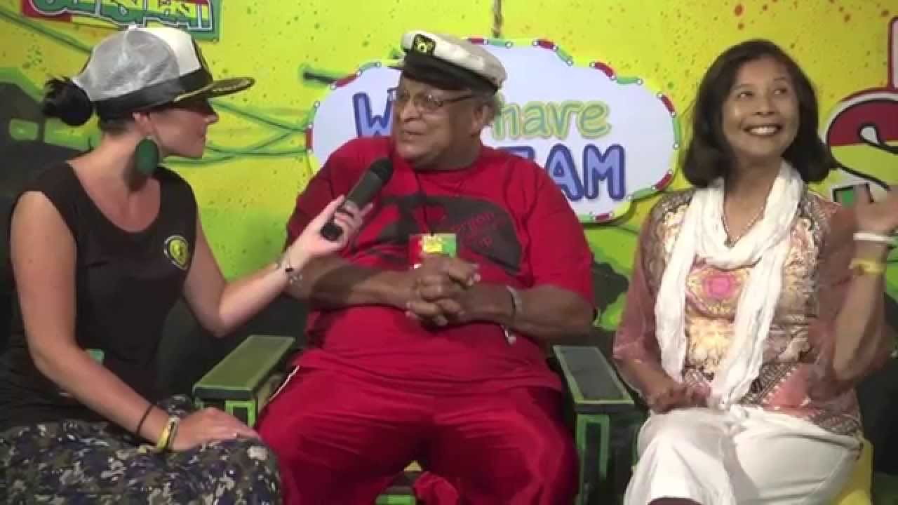Interview with Bunny Striker Lee & Patricia Chin @ Rototom Sunsplash 2014 [8/23/2014]