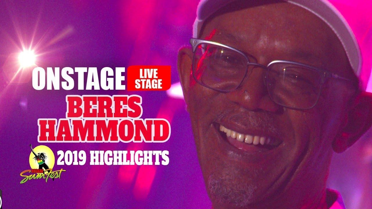 Beres Hammond Shines @ Sumfest 2019 (OnStage TV Highlights) [7/20/2019]