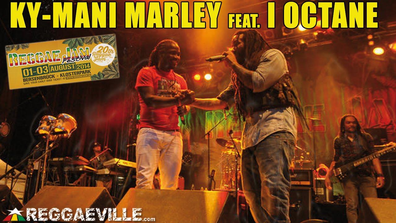 Ky-Mani Marley & I Octane - A Yah Wi Deh @ Reggae Jam 2014 [8/3/2014]