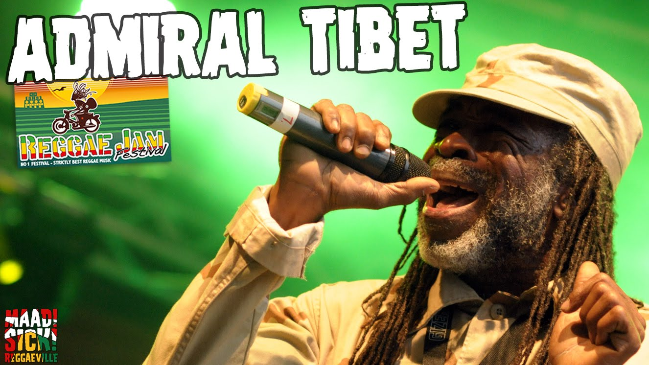 Admiral Tibet @ Reggae Jam 2016 [7/30/2016]