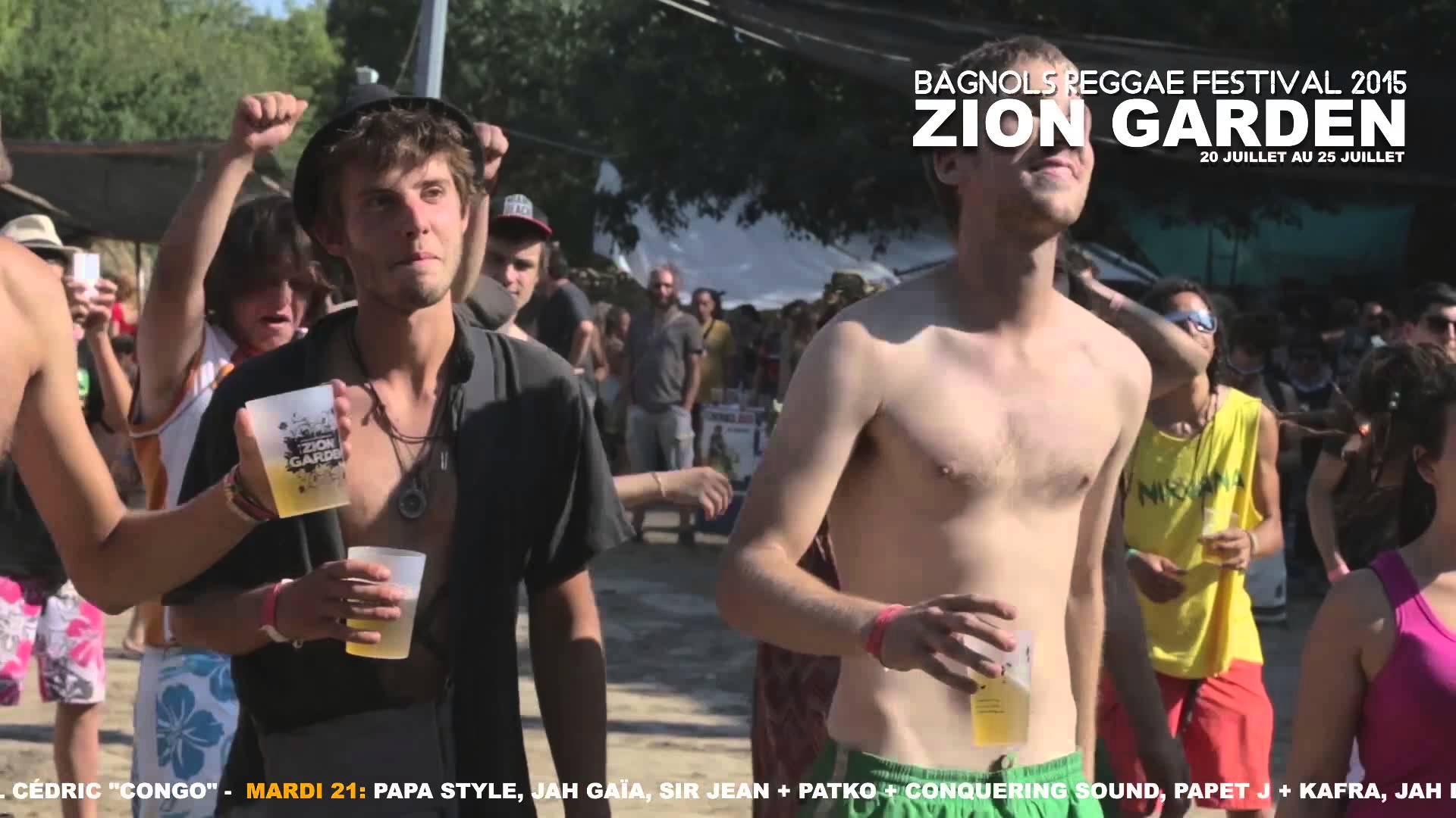 Zion Garden 2015 (Teaser) [6/24/2015]