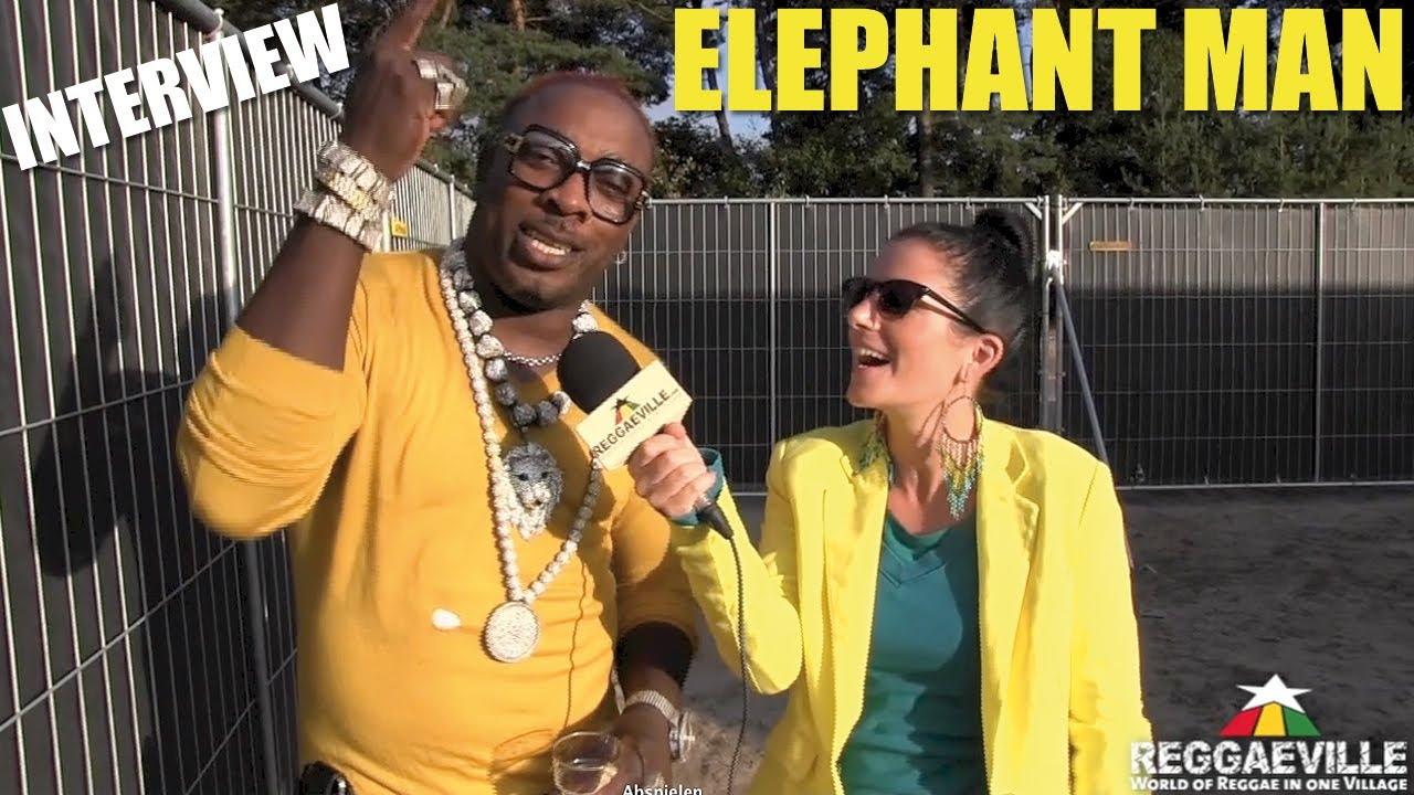 Interview with Elephant Man @ Reggae Sundance [8/10/2013]