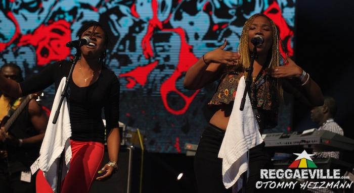 Ky-Mani Marley feat. Julian & Jo Mersa Marley @ Afro Pfingsten 2015