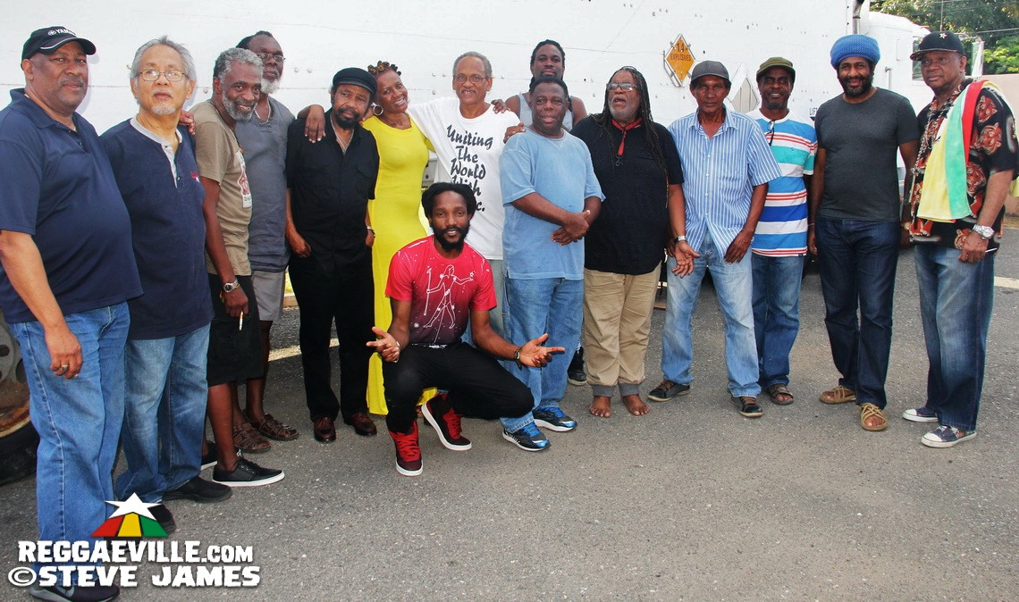 Peter Tosh Museum - Benefit Concert Rehearsals in Kingston, Jamaica