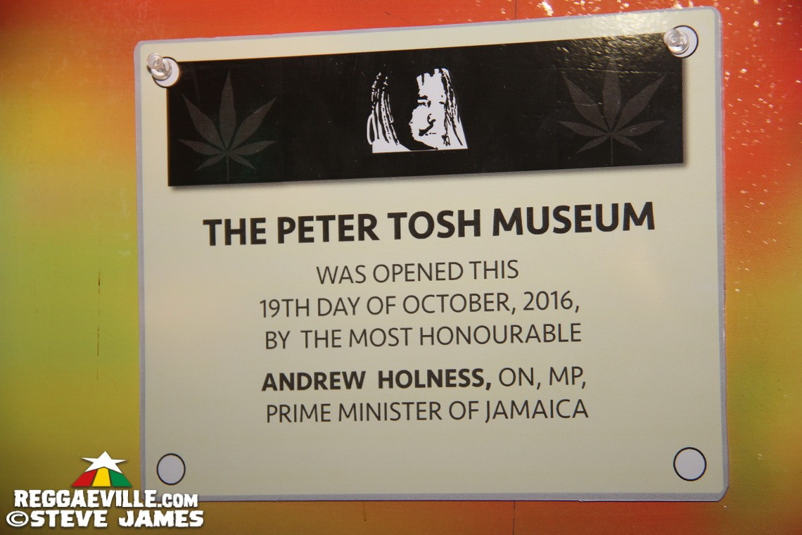 Peter Tosh Museum - Opening Ceremony in Kingston, Jamaica