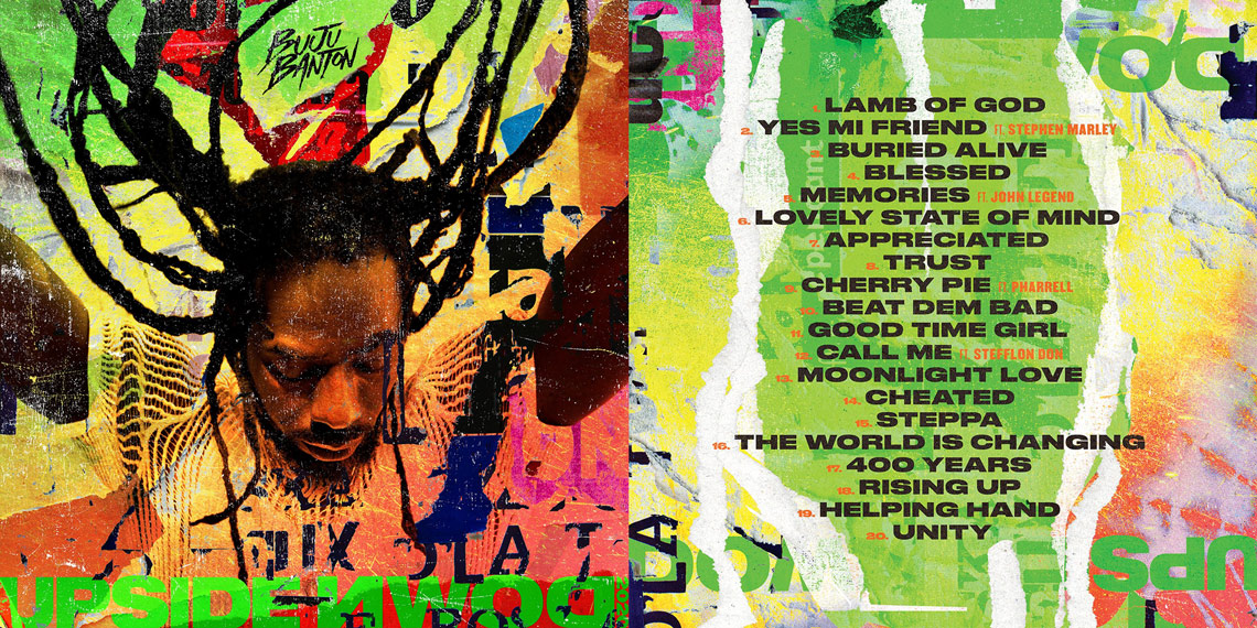 Buju Banton - Upside Down 2020... Release Date & Tracklist Confirmed